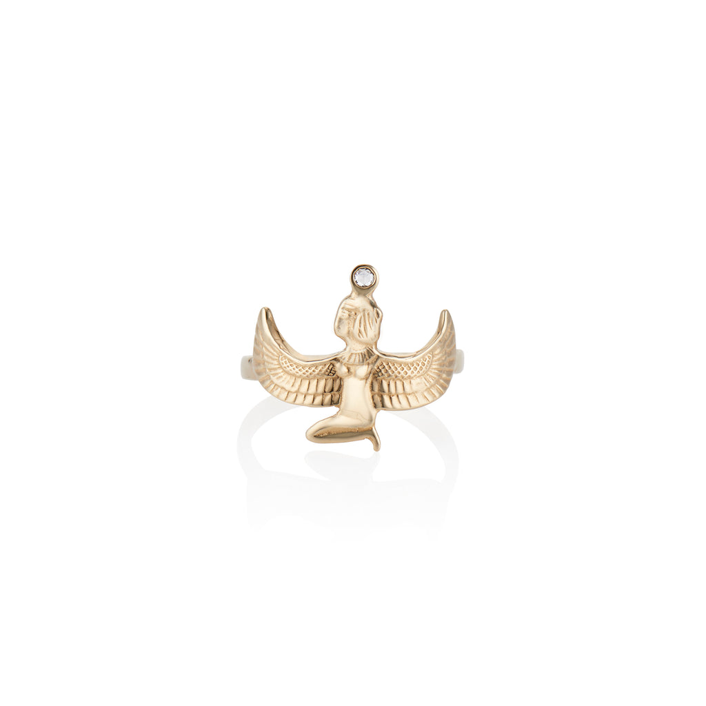 Goddess Isis Ring - Charlie and Marcelle