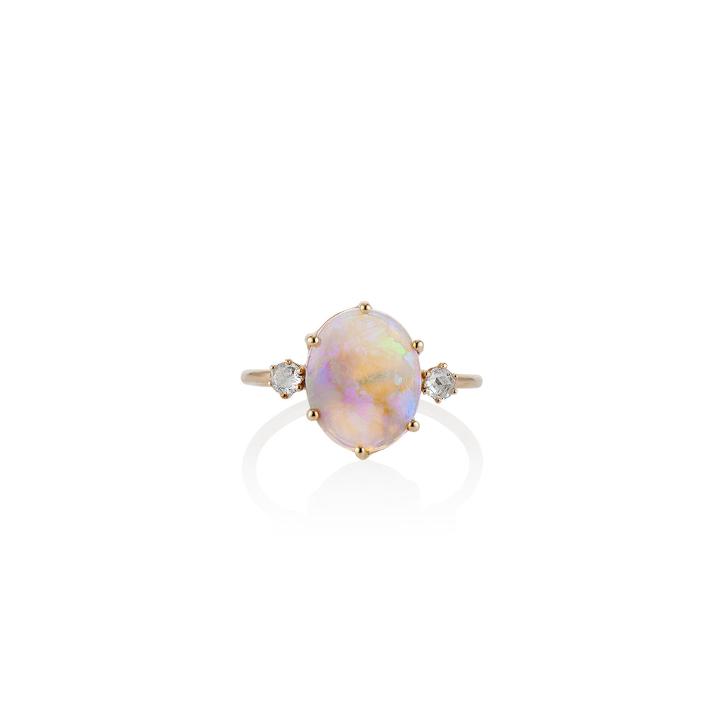 Magic Opal Ring - Charlie and Marcelle