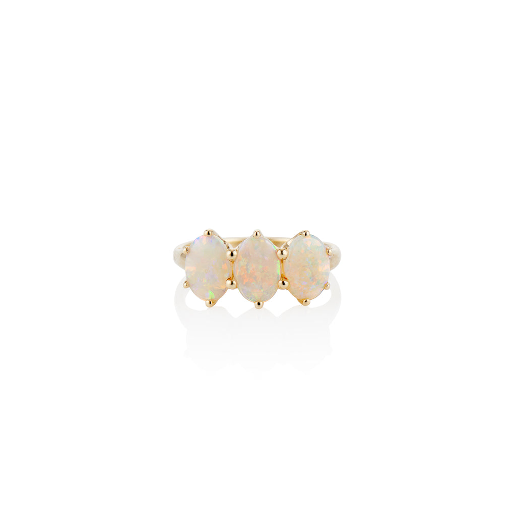 Queenie Opal Ring - Charlie and Marcelle