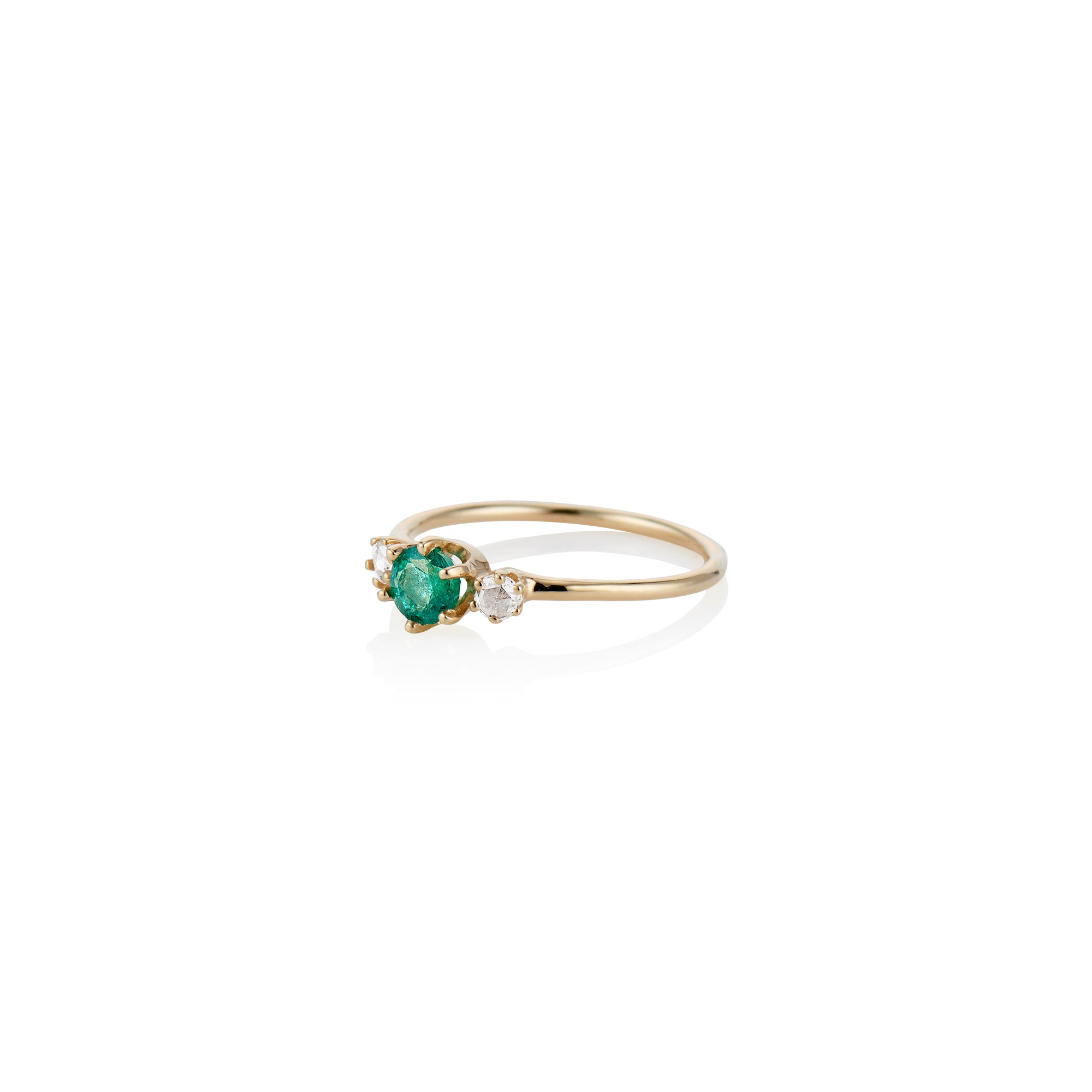 Darling Emerald Ring - Charlie and Marcelle