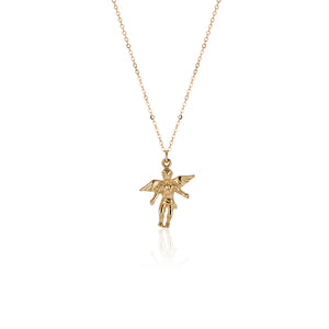 Protection Angel Necklace - Charlie and Marcelle