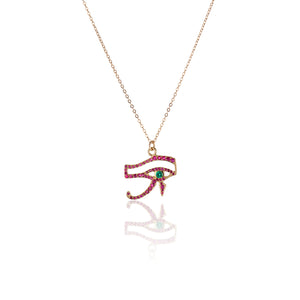 Eye of Horus Necklace - Charlie and Marcelle