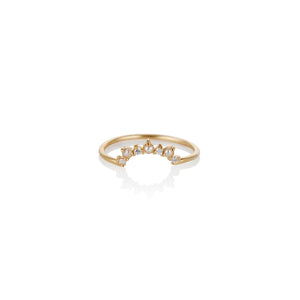 Sunshine Pearl and Diamond Ring - Charlie and Marcelle
