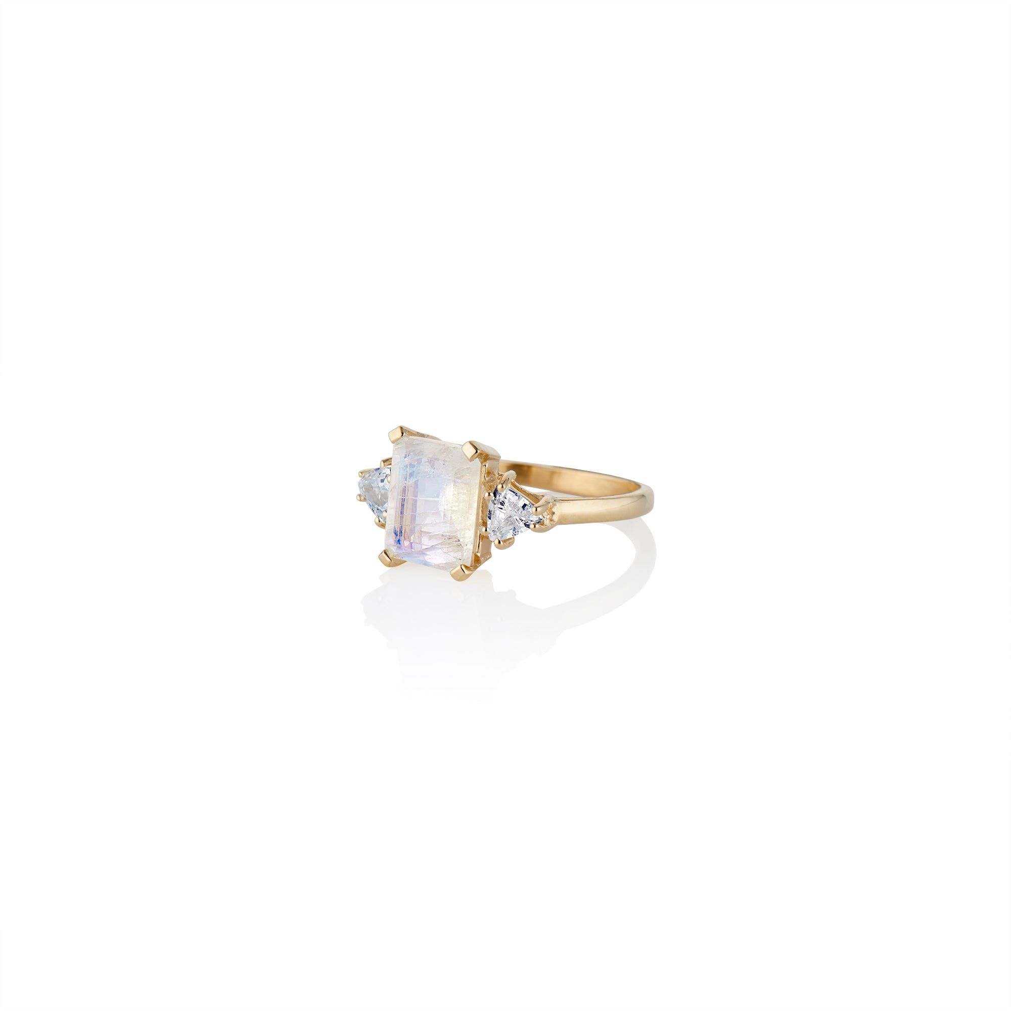 Empress Moonstone Ring - Charlie and Marcelle