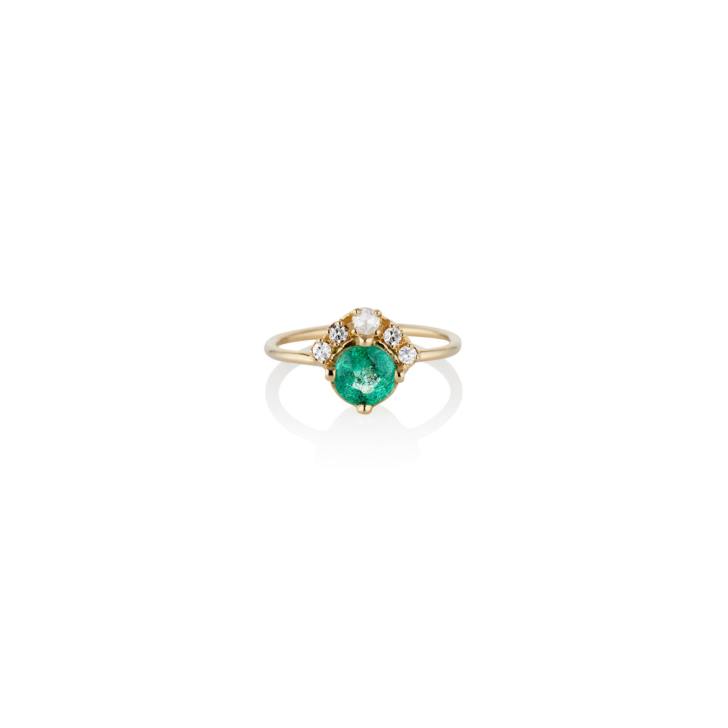 Enchanted Emerald Ring