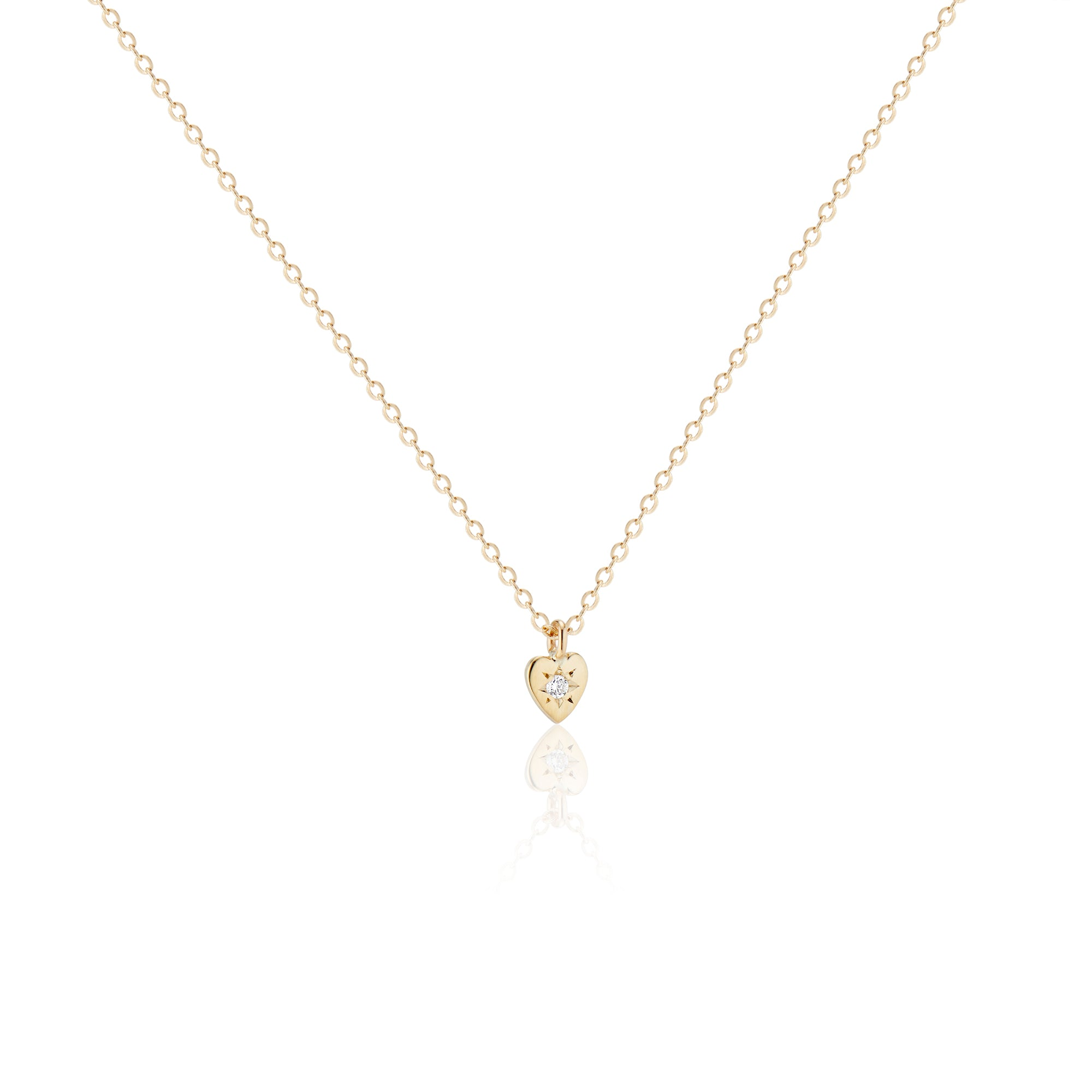 Teeny Tiny Sweetheart Necklace - Charlie and Marcelle