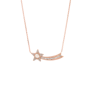 Milestones by AB X Charlie and Marcelle Shooting Star Necklace - Charlie and Marcelle