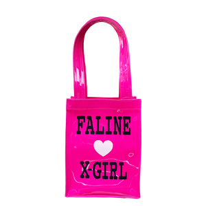 X-girl × FALINE MINI TOTE BAG (PINK)