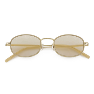 Bonnie Clyde No.7 Amber gold sunglasses