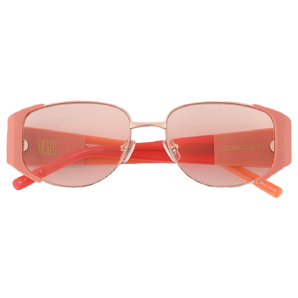 Bonnie Clyde Phlemuns double check sunglasses pink