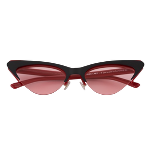 Bonnie Clyde Layer cake sunglasses Red