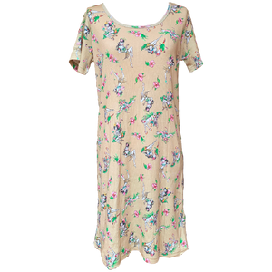 X-girl x FALINE GIRLS DRESS (Beige)