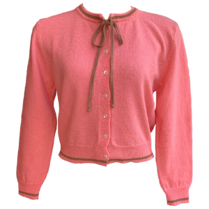 Fifi Chachnil Twin Cardigan Candy Pink