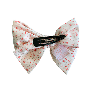 Fifi Chachnil ribbons Barrette Flower