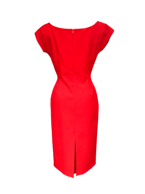Fifi Chachnil Mathilda Dress Red