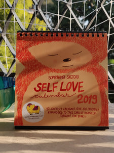 Something Sketchy Self Love Calendar 2019