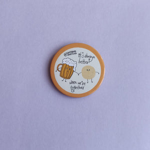 Beer and Chakna Badge