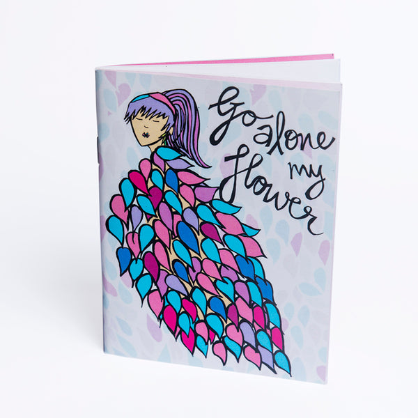 Go Alone My Flower Tinybook
