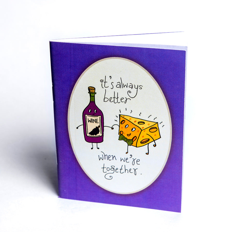 Wine and Cheese Tinybook
