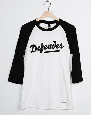 Defend Innocence Defender Unisex 3/4 Sleeve Raglan Tee