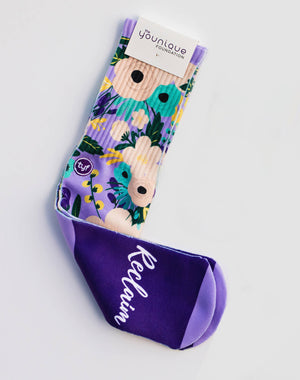 TYF Floral Collection Calf Sock