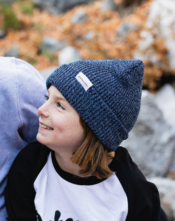 Defend Innocence Navy Beanie