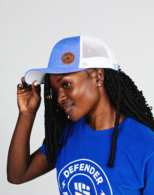 Defend Innocence Fight For Zero Trucker Hat