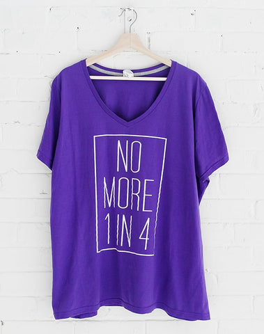No More 1 in 4 Tee (Plus Size)