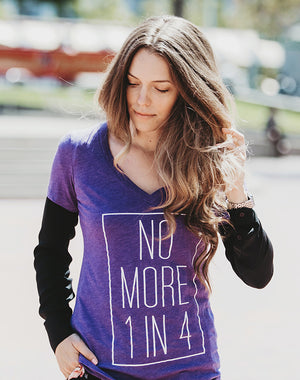 TYF No More 1 in 4 Women's Tee