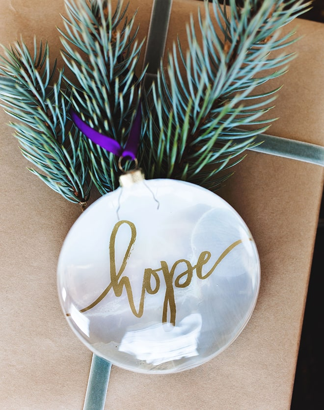 "Limited Edition Holiday ""Hope"" Ornament"