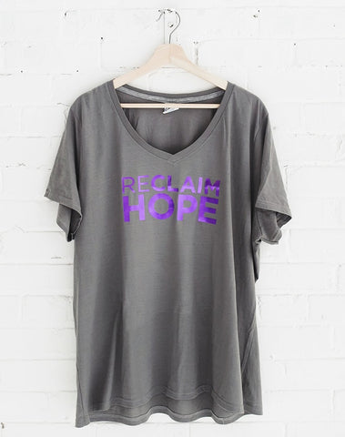 Reclaim Hope Foil Tee (Plus Size)