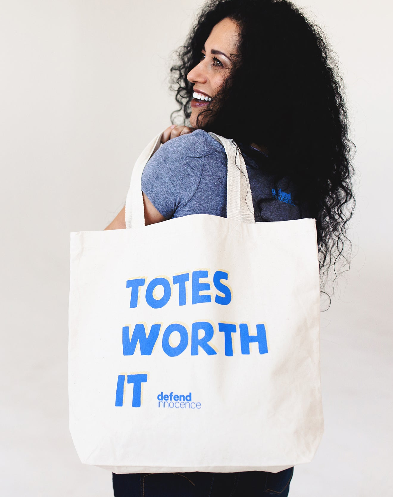 """Totes Worth It"" Canvas Tote Bag"