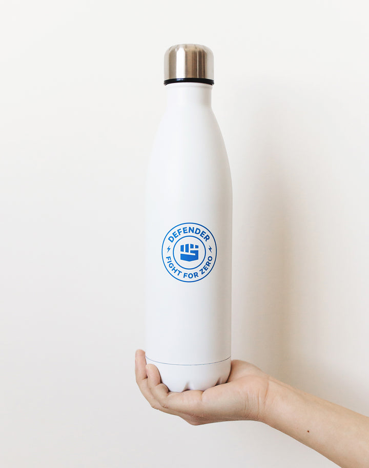 Defend Innocence Fight For Zero Insulated Water Bottle