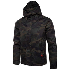 Casual Military Style Hoodie Jacket | 81Supreme Camouflage / S Men Coats & Blazers