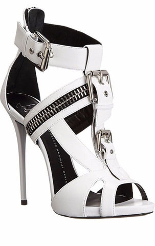 Women Fierce Biker Buckle Strap Stiletto Platform High Heels | 81Supreme Shoes