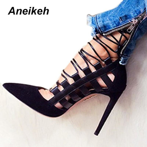 Women Sexy Pointed Toe High Heel Pumps | 81Supreme Shoes