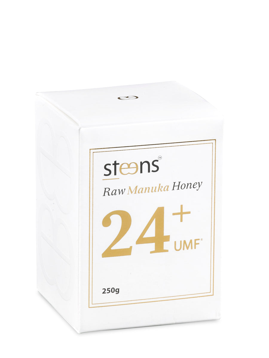 Steens UMF 24+ (MGO 1122) Raw Unpasteurized NZ Manuka Honey 250 Gram - Steens Honey