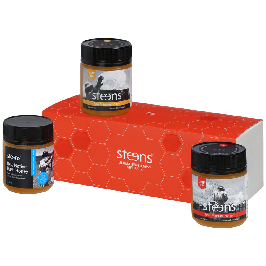 Steens Ultimate Wellness Pack (3 x 340g) - Steens Honey
