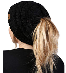 """091907193f2e GREAT FIT: BeanieTails have the same awesome fit as our H-6020a-06, the solid  ribbed knit soft stretch CC Beanies (8"""" long by 9"""" wide lying flat), ..."""