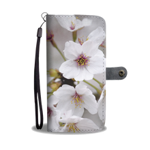 ABlyth Smart Phone Wallet, Travel Japan Series: Sakura 01
