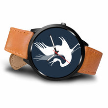 ABlyth Watch: Crane on Midnight Blue
