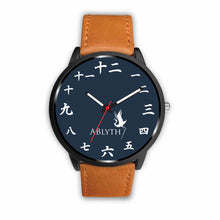 ABlyth Watch: Chinese Numbers on Midnight Blue