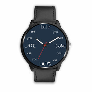 ABlyth Watch, Fun Series: You Are Late, Midnight Blue