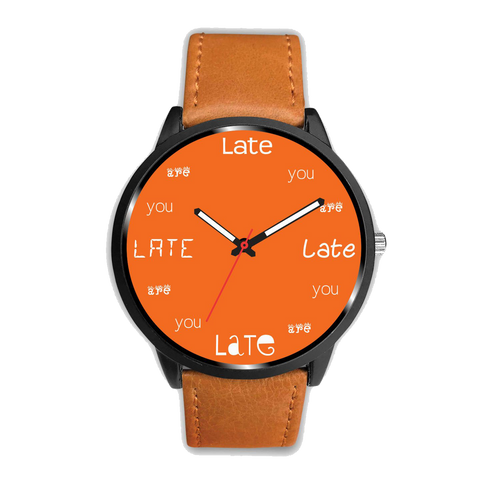 ABlyth Watch, Fun Series: You Are Late, Tangerine