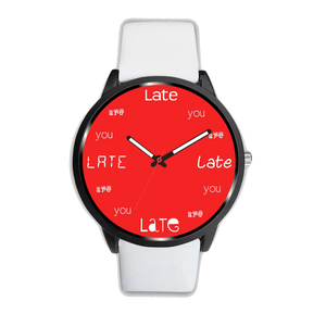 ABlyth Watch, Fun Series: You Are Late, Lucky Red