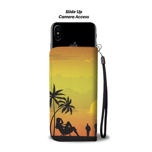 ABlyth Smart Phone Wallet, Summer Series: Pacific Sunset