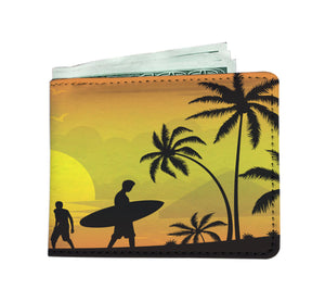 ABlyth Men's Wallet, Summer Series: Pacific Sunset
