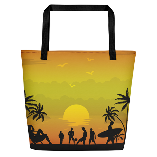 ABlyth Beach Bag, Summer Series: Pacific Sunset