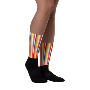 ABlyth Socks, Orginal Series: Sayit in Stripes (vertical)