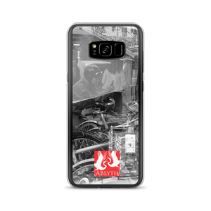 ABlyth Samsung Case: Art Series, Poem of a Cacophonous City (with logo)